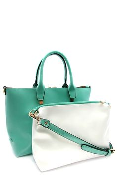259d24b61831 2 IN 1 TOTE BAG - Versatility Like Nobody Boutique. Need a Handbag that can
