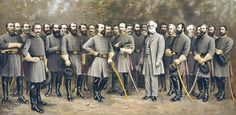 Here are the Confederate Generals
