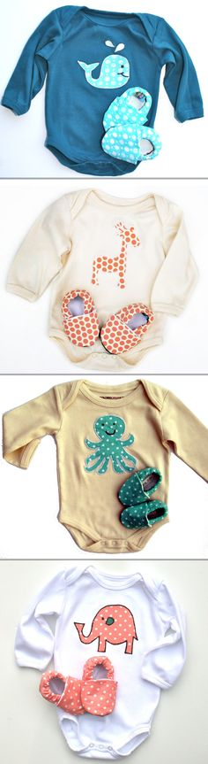 This Etsy shop has the cutest baby clothes