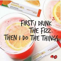 This is how I #getitdone #healthy #energy #fizz #arbonne