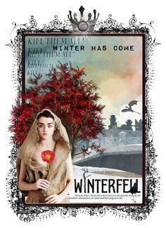 """Winter Has Come"" by ccr1 ❤ liked on Polyvore featuring art"