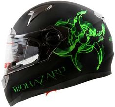 Bio-hazard Full Face Motorcycle Helmet