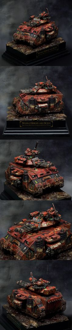 Where Heroes are Born - Blood Angels Baal Predator