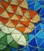 Triangle Crochet Afghan