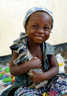 Small African girl