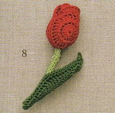 Share Knit and Crochet: flower