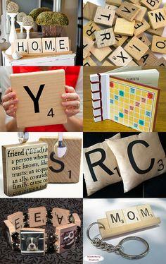 Bulk Scrabble letters for crafting