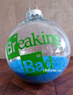 breaking bad inspired ornament                                                                                                                                                                                 More