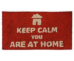 Capacho keep calm you are at home