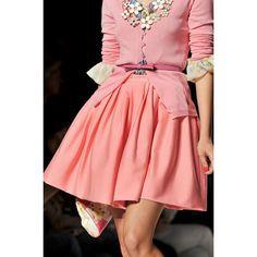 Blugirl at Milan Fashion Week Spring 2012 - StyleBistro found on Polyvore
