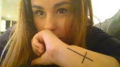 Tatto cruz