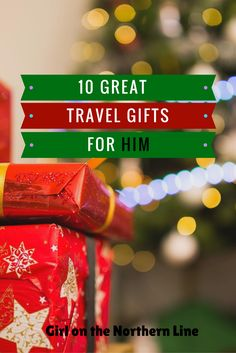 Check out some great gift ideas for the man in your life that loves to travel.