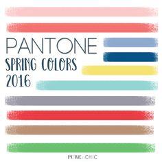 PANTONE Spring Colors Inspiration
