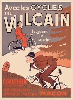 Cycles Vulcain ~ Anonym #Bicycles #Vulcain #Cycles #Velos