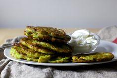 Swiss Chard Pancakes by Smitten Kitchen # vegetarian