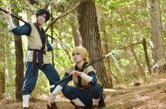 Akatsuki no Yona / Yona of the Dawn anime and manga || Han Dae and Tae Woo Cosplay