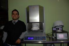 Que alegria de trabajar con hornos de hasta 1,500 grados celcius para el Zirconio