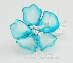 Image result for blue cherry blossoms