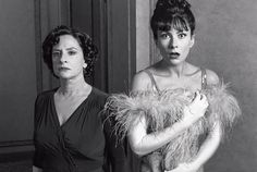 """Patti LuPone as Rose and Laura Benanti as Louise in """"Gypsy"""""""