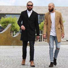 """@marius_ebert on Instagram: """"#classy #street #coat with @breidofficial"""""""