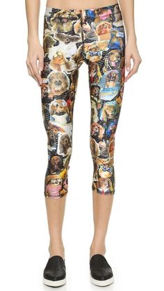 These pants are hilarious -- could you imagine someone working out in these? We would be friends instantly! - Zara Terez Toast Meets World Performance Capris