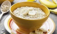 Oatmeal is extremely useful for weight loss and is very healthy. Therefore here 10 tasty . - Oatmeal is extremely useful for weight loss and is very healthy. So here are 10 delicious oatmeal r - Baby Food Recipes, Healthy Recipes, Healthy Habits, Breakfast Recipes, Good Food, Food And Drink, Healthy Eating, Rice Cereal, Oat Cereal