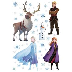 Jégvarázs 2. faldekráció, 65 x 42 cm Empty Wall, Stickers Online, Frozen, Some Fun, Wall Stickers, Kids Room, Moose Art, Presents, Glass Tiles