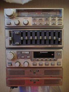 ロンサムカーボーイ KP-919G/GEX-91/CD-9/GM-4 セット Radios, Pioneer Car Stereo, Vintage Cars, Antique Cars, Electrical Projects, Car Audio, Automobile, Auction, Geek