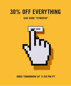 """Jack Spade: Cyber Monday: 30% Off Everything Enter Code """"CYBER30"""" Through Tomorrow at 11:59 PM PT."""