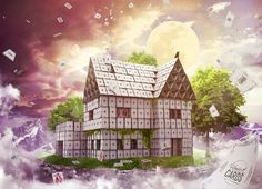 House of Cards- 3D Rendering / Photo Composition 2017  http://www.stilknecht.de/house-of-cards/