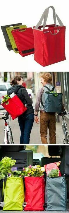 Versatile shopping bag