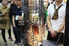 gotische kathedrale Dutch Lab designer kaffeemaschine wasser kaffee eprouvetten kaffee kochen