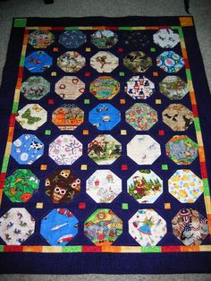 An I Spy quilt for my granddaughter