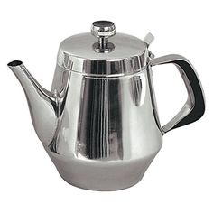 TEAPOT STAINLESS STEEL 48 oz. FOR RESTAURANT OR HOME USE NEW! ;#G344T3486G 34BG82G337863