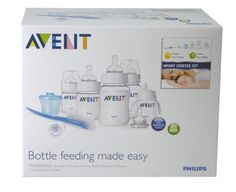 Philips AVENT BPA Free Classic Infant Starter Gift Set | Shopping World Super Store List Price: $39.99 Discount: $14.58 Sale Price: $25.41
