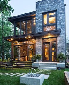 Lake Calhoun Residence by @jkandsons, #Minneapolis #Usa ...                                                                                                                                                      Más