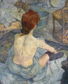 littlepennydreadful:  Toulouse Lautrec, La Toilette, 1889
