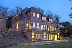 #theplainhouse #design #brickwork #newhome #design #landscape #newbuild #surreyhome #timber #wood #aluminium
