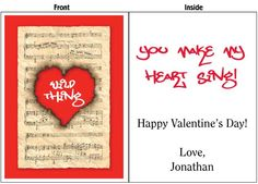 Big Valentine's Day Card. Warm someone's heart this Valentine's Day. Available in 2', 3', and 4' sizes. FREE SHIPPING