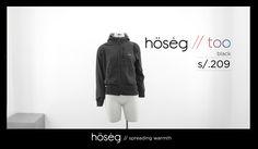 hösėg // too // black ==== US $70