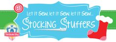 Fat Quarter Shop Stocking Stuffers - Great gift ideas for the crafty ones on your Christmas list!