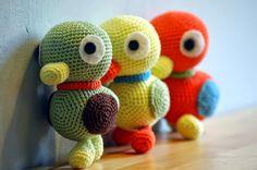 Sabrina's Crochet: Crochet Pattern Duckies (Sanrio)