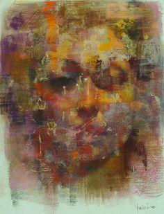 "Saatchi Online Artist Yuriy Ibragimov; Drawing, ""luiza "" #art"