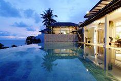 kata beach villa, thailand Luxury Life, Luxury Homes, Beach Villa, Rest And Relaxation, Vacation Trips, Vacations, Interior Design Magazine, Phuket, Exterior Design