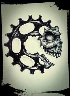 Resultado de imagem para desenho vintage de peças de motos
