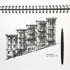 Steep street in San Francisco