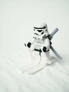Action Figure by Mike Stimpson | LEGO Star Wars Stormtrooper Minifig