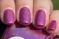 Wink of Pink Lilypad Lacquer