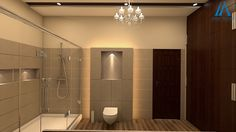 Stylish Design Idea of for Your Beauty by Best Interior Design, Bathroom Interior Design, Bathroom Designs, Interior Design And Construction, 3d Design, Sketch, Mirror, Stylish, Beauty