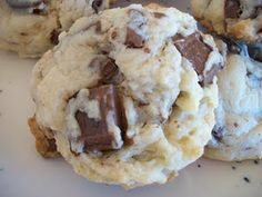 cream cheese hershey cookies